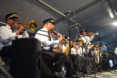 Treme Brass Band Tribute to Uncle Lionel.  Photo by Hunter King.