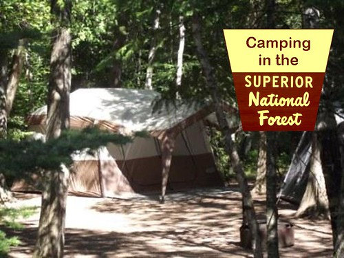 Superior National Forest Camping Cabins
