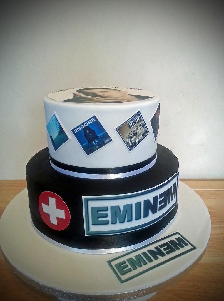 Sensational Eminem Birthday Cake Sweetharts Cakes And Bakes Flickr Funny Birthday Cards Online Bapapcheapnameinfo