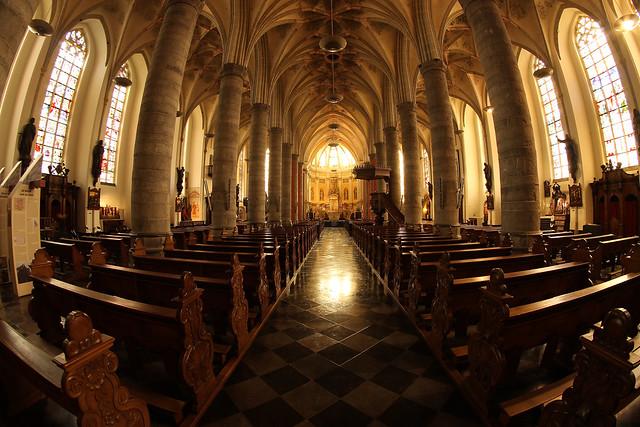 Inside St. Martinus Church
