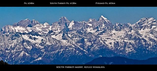South Parbati Range, Kullu Himalaya, Himachal Pradesh - India