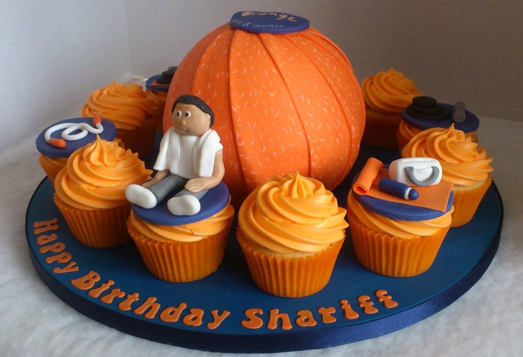 Wondrous Chocolate Orange Birthday Cake Liz Flickr Funny Birthday Cards Online Hetedamsfinfo