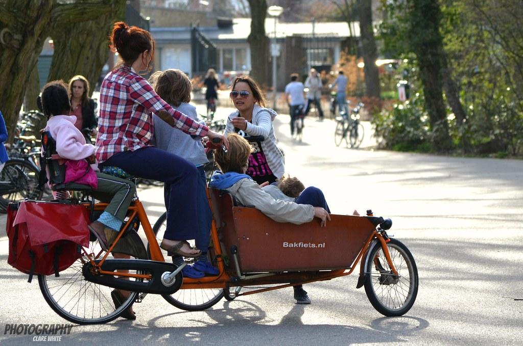 Five on a Bike!!