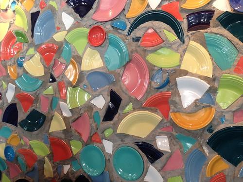Fiestaware Mural   by Arthur's Photographs