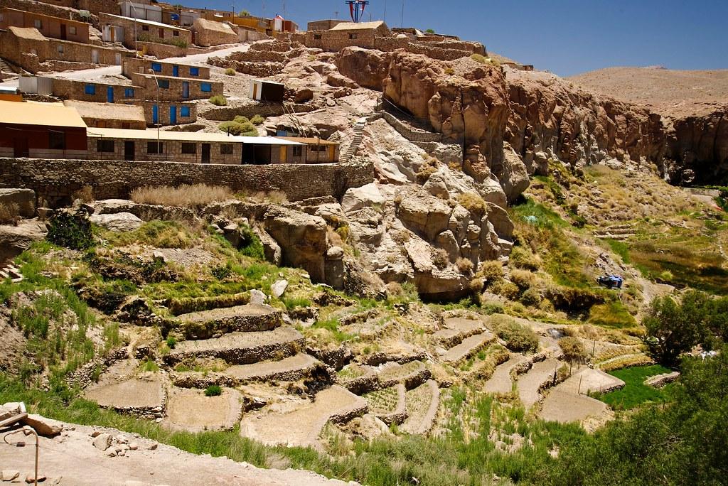 Terrazas De Cultivo Ayquina Calama Antofagasta Chile