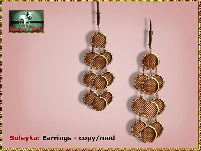 Bliensen - Suleyka - Earrings