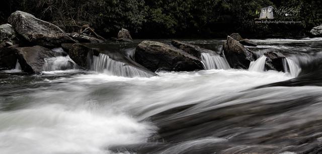 Base of Triple Falls