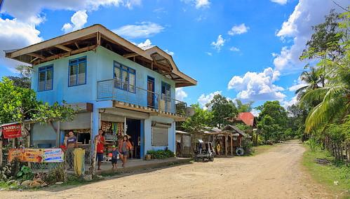 street house view philippines haus oriental phl visayas negros philippinen negrosoriental mabinay