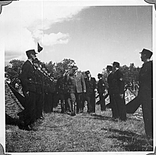 Borrestevnet 1943, Vidkun Quisling og Rikshirden.