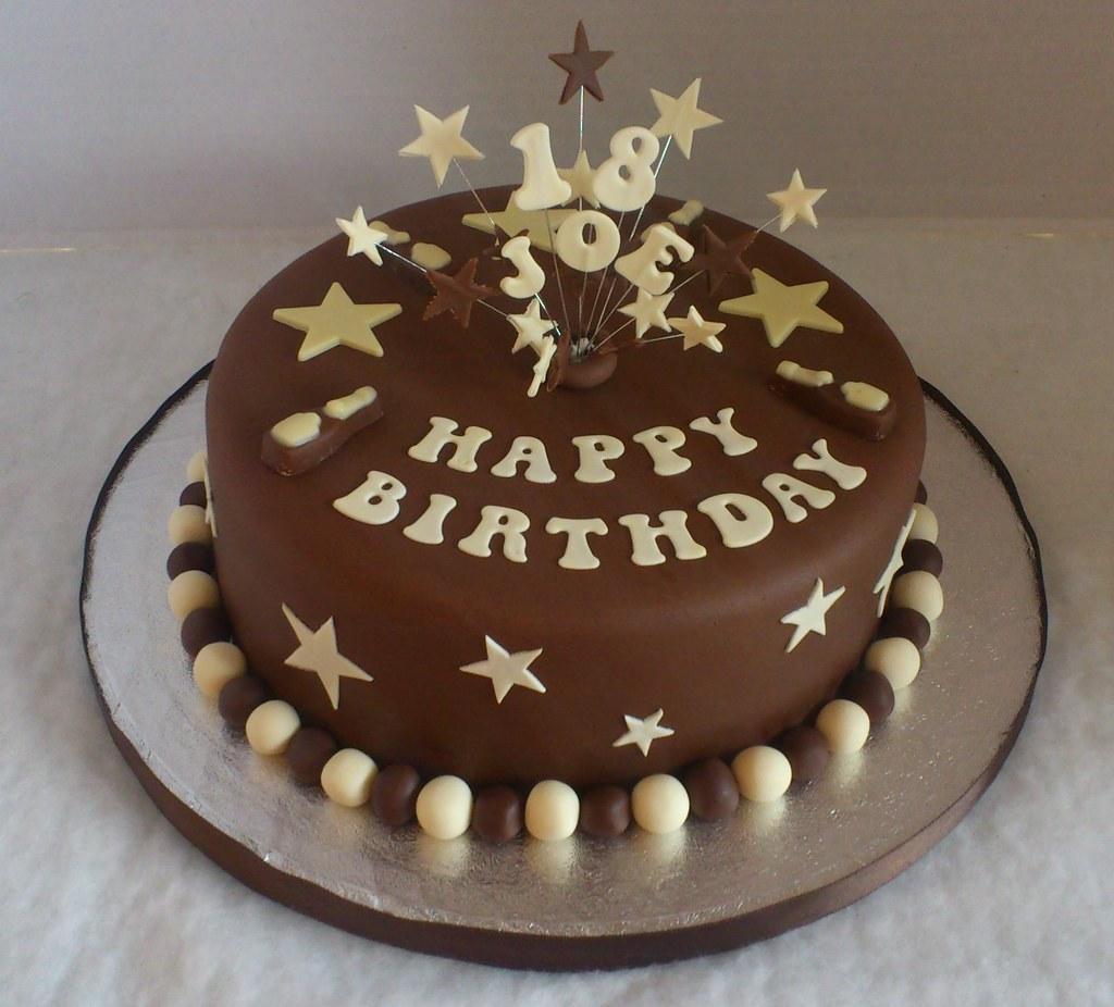 Superb 18Th Birthday Cake Liz Flickr Funny Birthday Cards Online Fluifree Goldxyz