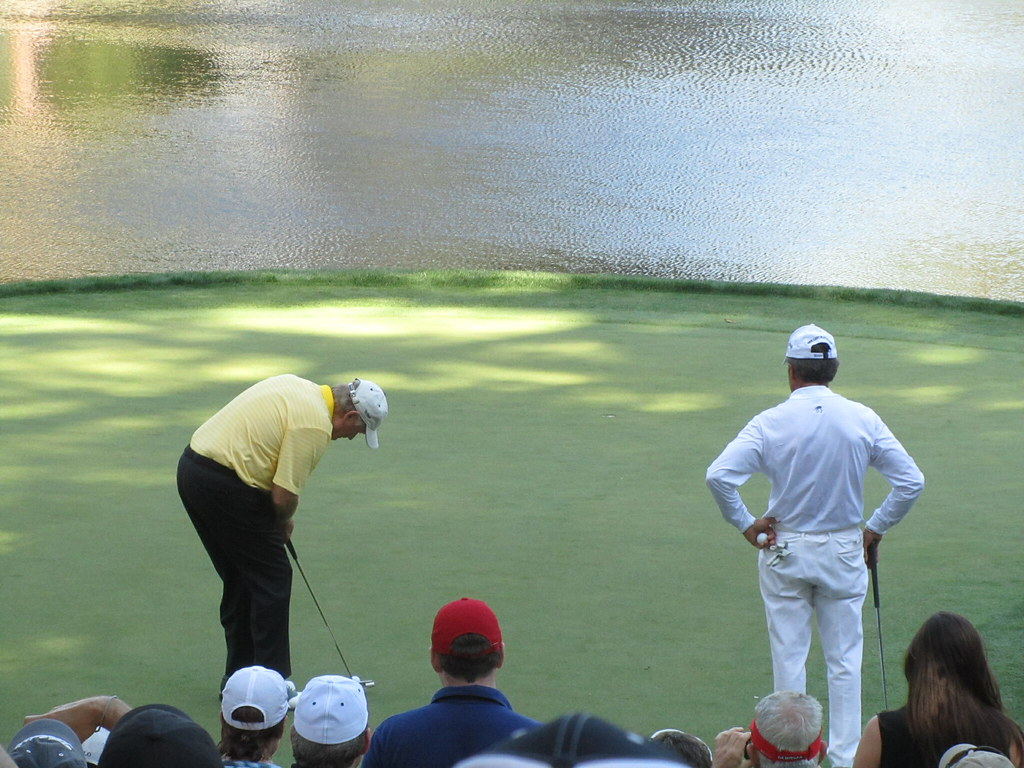 Jack Nicklaus at the Masters Par 3 Tournament | Dan Perry | Flickr