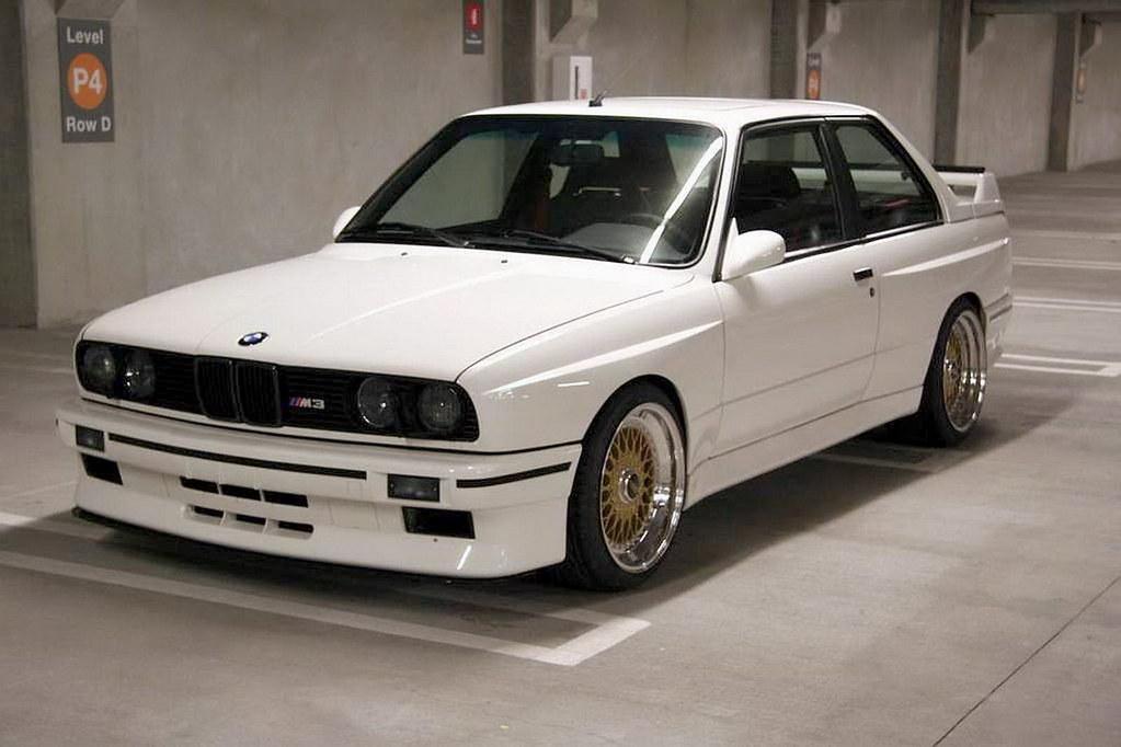 Bmw E30 M3 White Bbs Rs Gold A Jukurtti Flickr