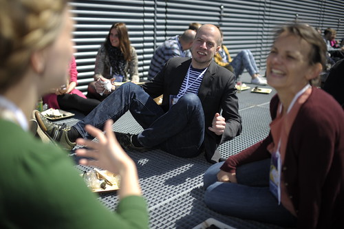 Maria Wolk Toke Roof top lunch | by Leaderlab