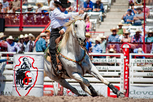 horses horse nikon rodeo cowgirl cheyenne barrelracing frontierdays everydaymiracles d700 johnchouse