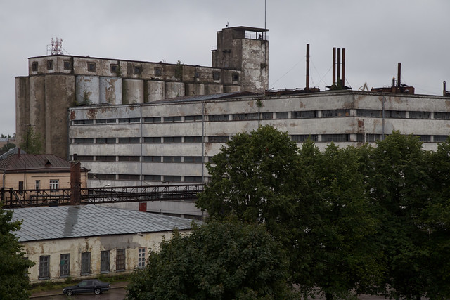 Former SOK Corporation's Mill and Bakery in Vyborg (Viipuri), Russia
