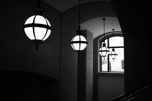 "Image titled ""Lighting, United States Capitol Visitor Center."""