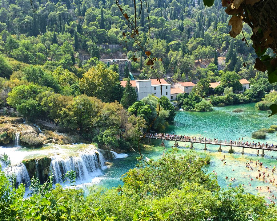 Krka Footbridges