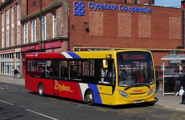 Glasgow Citybus YX61EMK