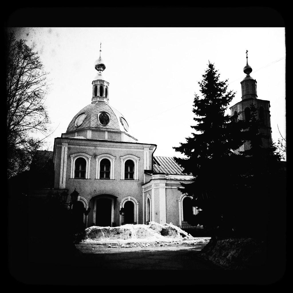 Храм Всех Святых во Всехсвятском   The temple of All ...