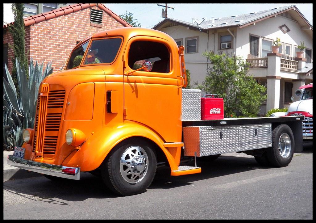 1938 Gmc Coe Truck A Beautiful Orange 1938 Gmc Coe Truck A Flickr