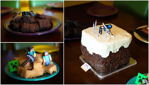 Minecraft Party Food   by Fluttering By