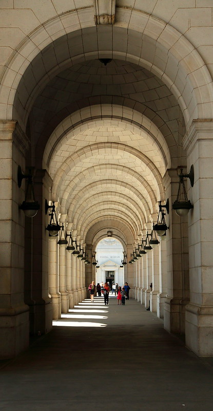 Breezeway In Front Of Union Station