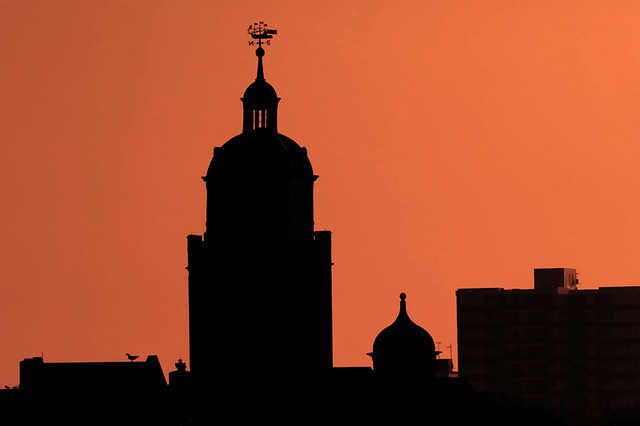 Portsmouth Cathedral Silhouette