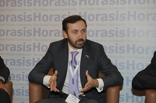 Ilya Ponomarev, Chairman, Innovation & Venture Capital Subcommittee of the State Duma, Russia | by Horasis