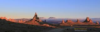 Dawn in Pointy Land [C_066201] | by Steven Christenson
