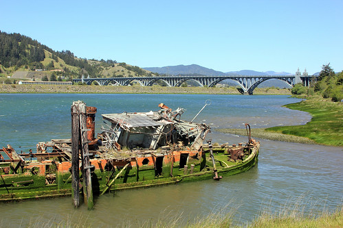 Rogue River at Gold Beach | by Slideshow Bruce