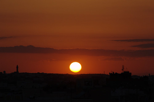 sunset lamta