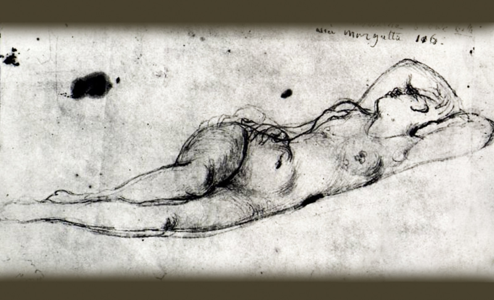 Genealogía de las Soñantes, versiones de Lucas Cranach el Viejo (1534), Giorgione (1510), Tiziano Vecellio (1524), Nicolas Poussin (1625), Jean Auguste Ingres (1864), Amadeo Modigliani (1919), Pablo Picasso (1920), (1954), (1955), (1961).