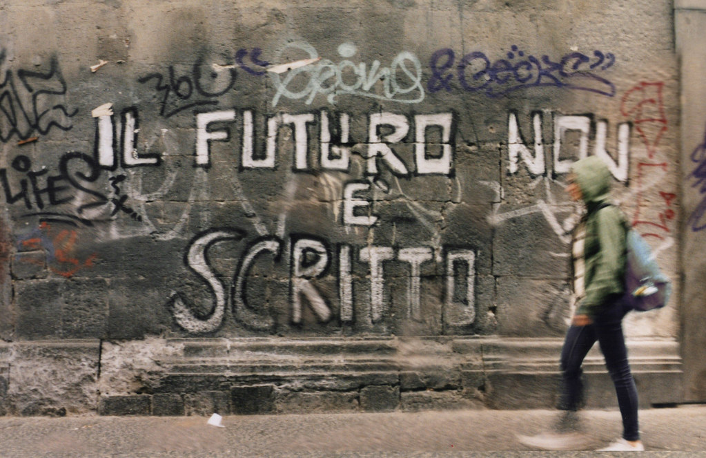 Il futuro non è scritto. | 365 analogical days on tumblr 365… | Flickr