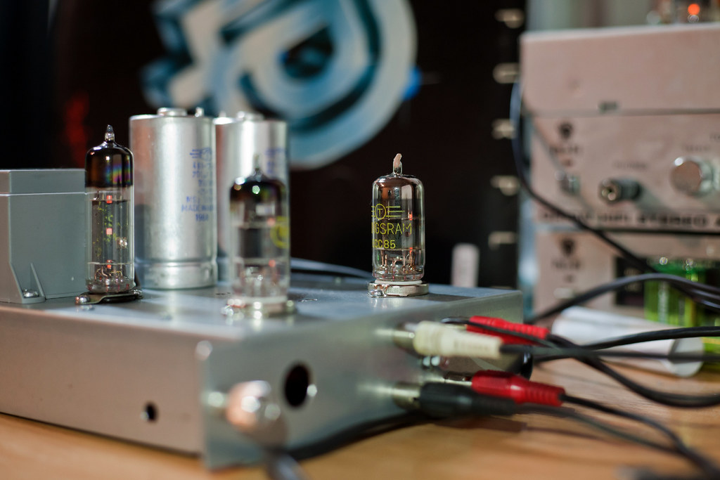 DIY tube RIAA phono preamplifier | DIY phono preamp with Tun… | Flickr