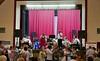 Die Blaskapelle Billed-Alexanderhausen mit den Solisten Melitta und Dietmar Giel im Restaurant Genossenschaftssaalbau beim Herbstfest in Nürnberg - einer der 3 Hochburgen der Billeder in Deutschland.