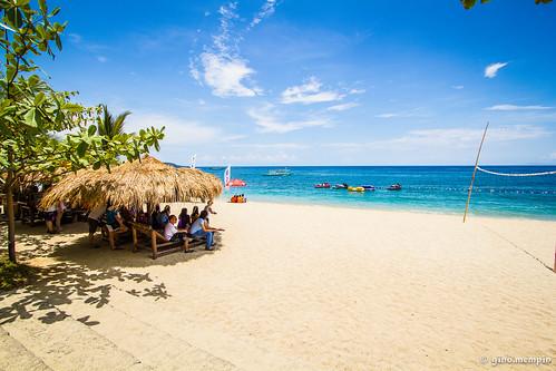 summer beach sand hut heat batangas laiya canon1022