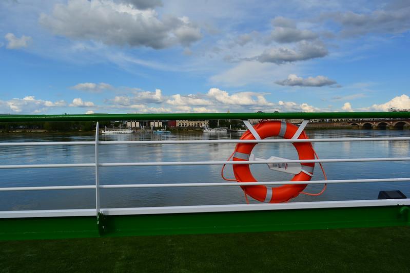 Pont soleil - Visite du MS CYRANO DE BERGERAC - 17 mai 2013 - Bordeaux
