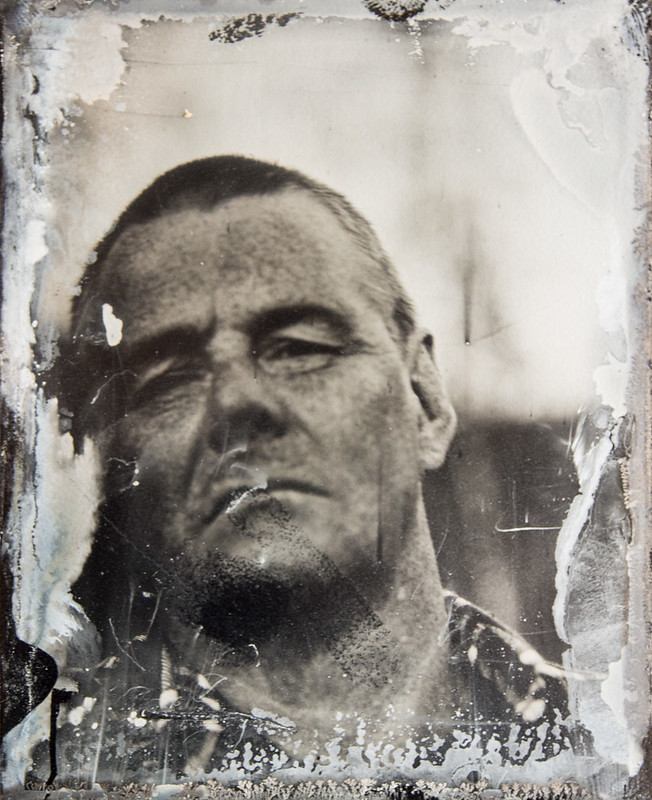 Self on collodion #2