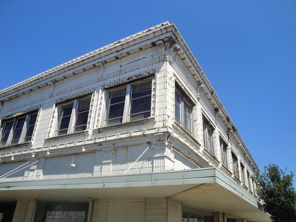 Exterior sunny corner shot