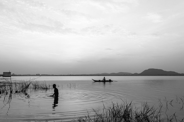 Morning Rituals |  | Kolavai Lake,Chennai.