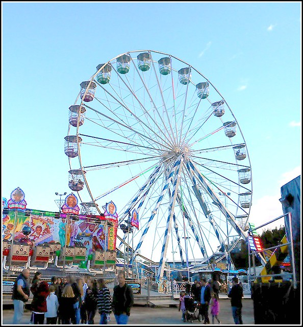 Big Wheel at Hull Fair .