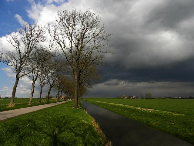 Sky over de Beemster
