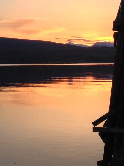 Sunset - Denman Island