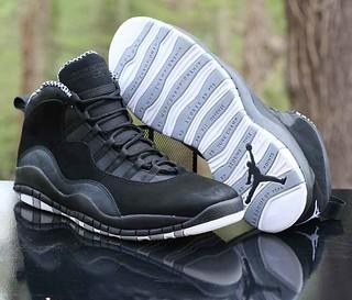 best service 98ab1 56047 Nike Air Jordan 10 X Retro Stealth Black White 310805-003 Men s Size 13 ...