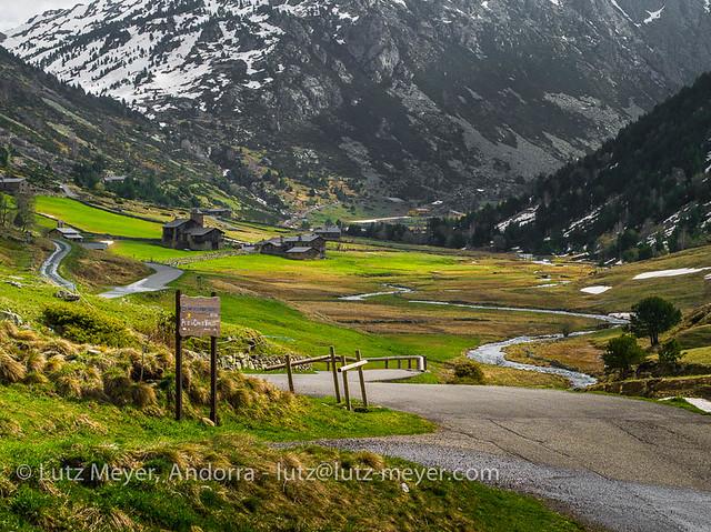 Andorra nature regions: Canillo, Vall d'Orient, Andorra
