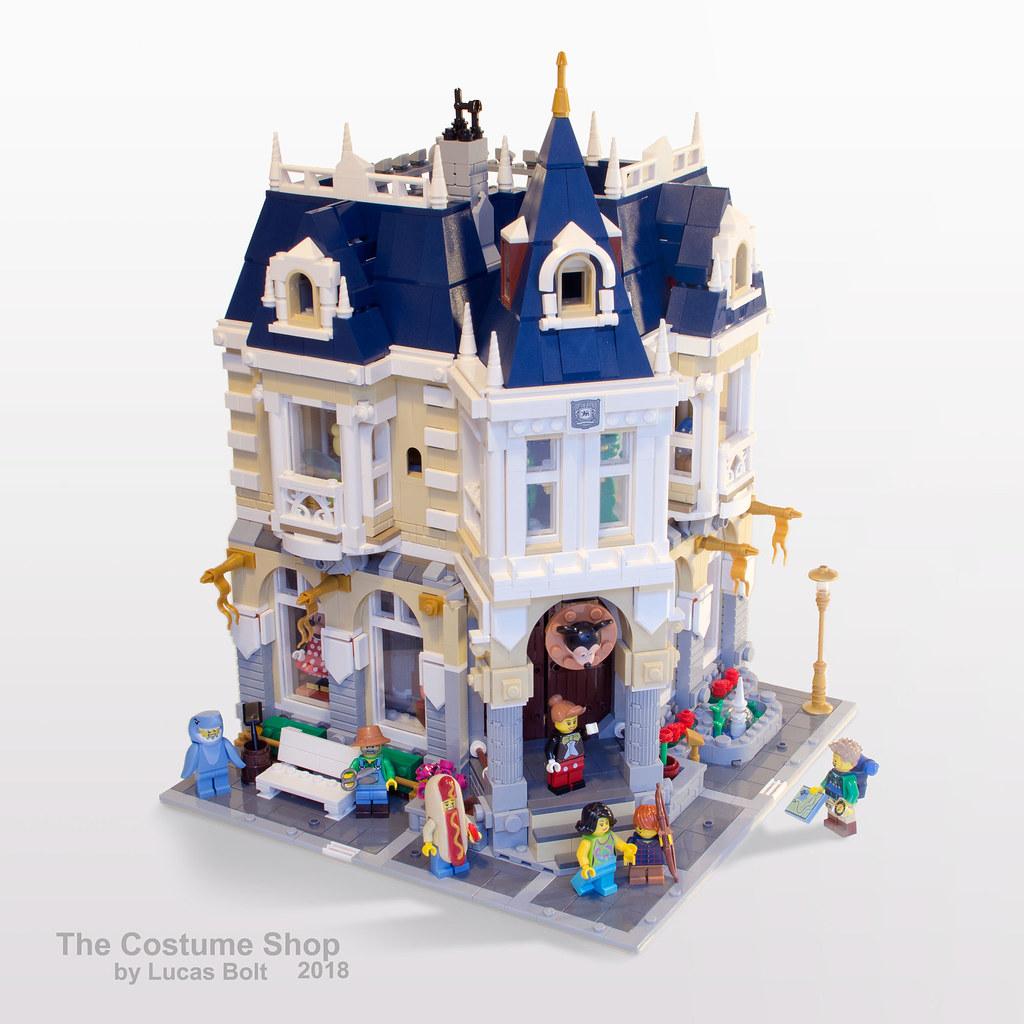 Brickfinder - Rebrick your LEGO Disney Castle into this Costume Shop