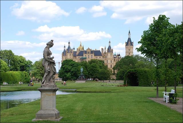 Jardines y Castillo de Schwerin (Alemania, 7-6-2015)