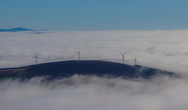 The great windfarm in the sky