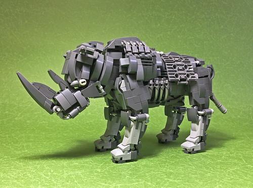 LEGO Mecha Rhinoceros-01