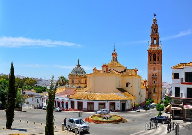 Carmona : Plaza Blas de Infante